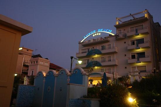 Hotel Luxor Beach: luxor beach hotel cattolica SUL MARE