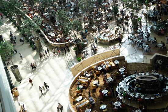 โรงแรมมารีน่า เบย์ แซนด์ส: the lobby