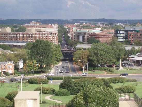 George Washington Masonic National Memorial: View from