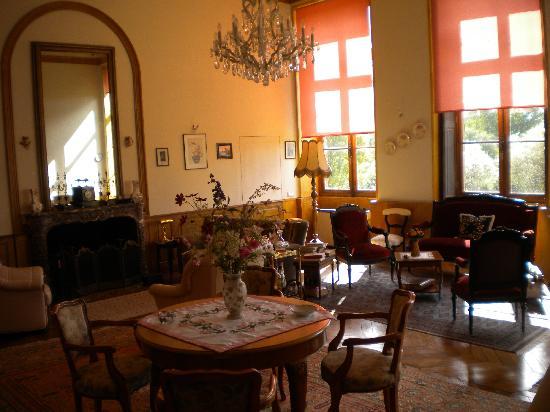 Chateau de Flee: Room where we had breakfast