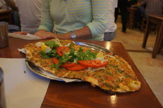 Turkish Flavours: pizza arabic style