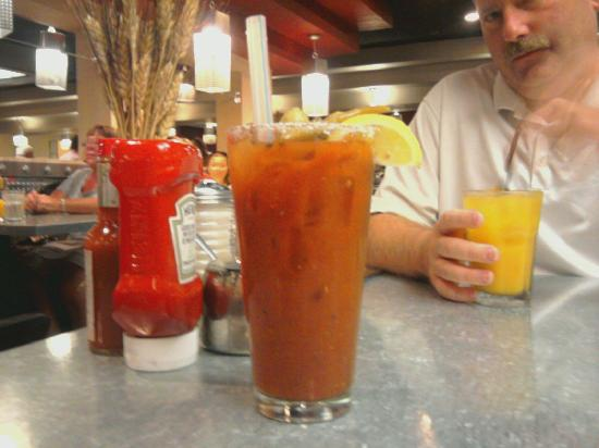 Hash House A Go Go: Bloody Mary & Screwdriver