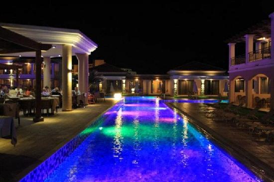 La Marquise Luxury Resort Complex: Main pool at night