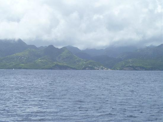 Hackshaw's Boat Charters: Overcast but spectacular...