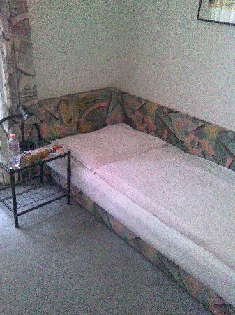 Hotel Goldener Baer: poor room