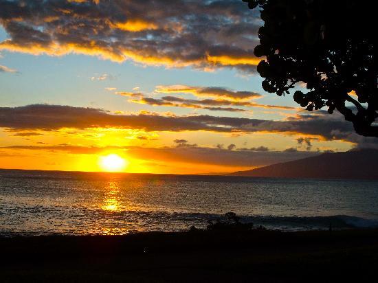 Napili Point Resort: Sunset at Napili Bay