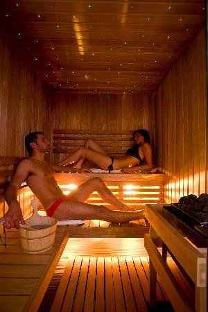 Hotel Luxor Beach: Sauna del centro benessere luxor beach hotel cattolica