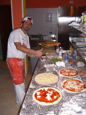 Pizzeria Il Portico: Interno