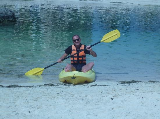 Catalonia Riviera Maya: How daft you can look on a Kayak