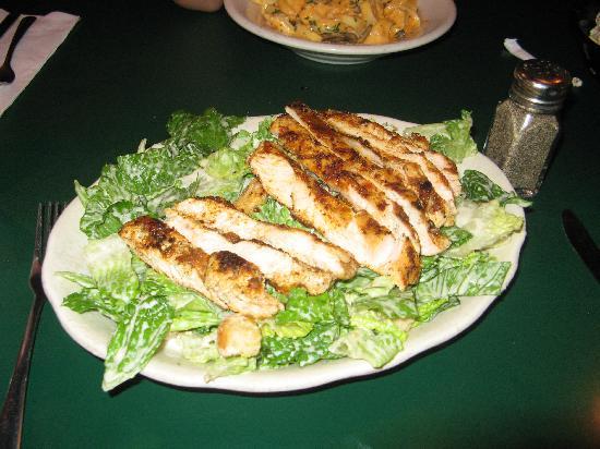 Chips' Pub III: Buffalo chicken Caesar salad