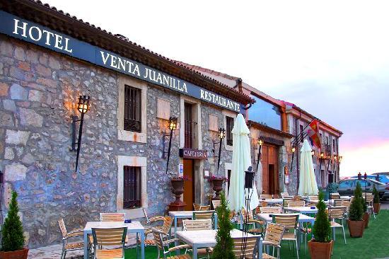 Terraza Exterior Hotel Venta Juanilla