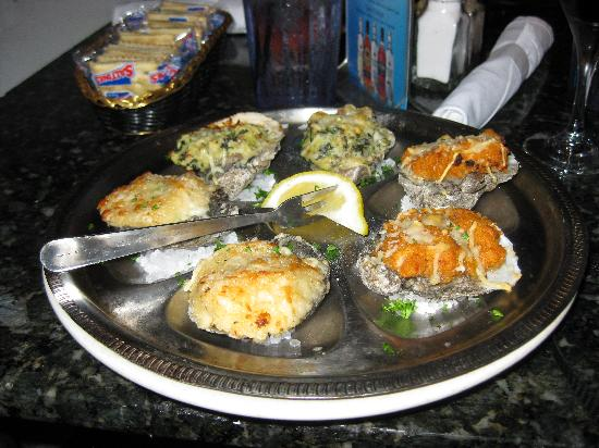 Royal House Oyster Bar: sampler trio