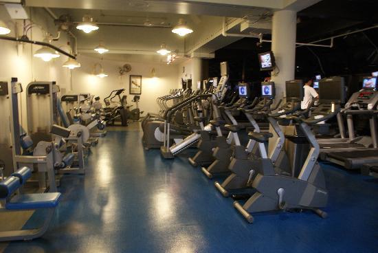 เดลต้า เชลซี: La salle de fitness...