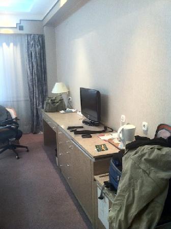 Chinggis Khaan Hotel: Hotel Desk