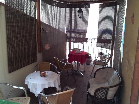 B&B Proserpina: Colazione nella terrazza...