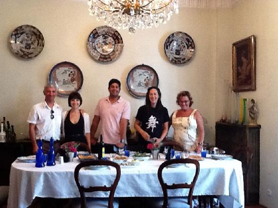 Our Turkish Flavours Class with Selin minus myself!