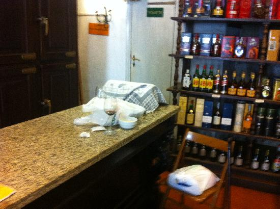 Enoteca Buccone: The remains