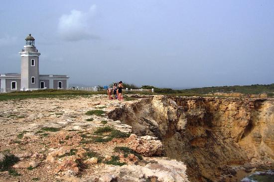 Playa Sucia: Acantilafos cerca del Faro