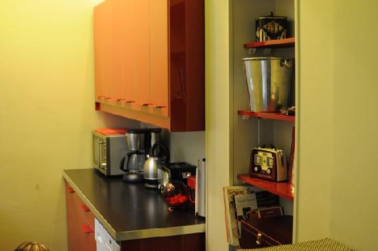 Luxury Flat in Dijon : Kitchen Bench