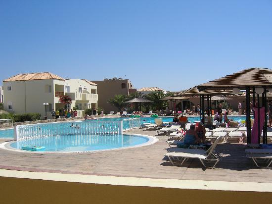Akti Beach Club Hotel: view from restaurant
