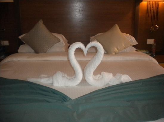 Coral Sea Aqua Club Resort: towel art
