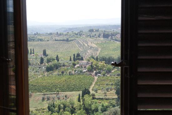 La Cisterna Hotel: View from the window