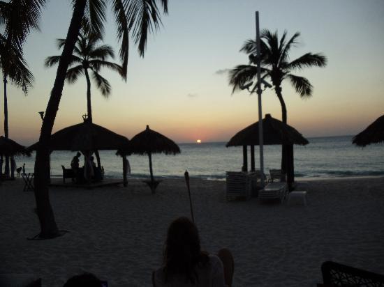 Bucuti & Tara Beach Resort Aruba: Sunset at Bucuti