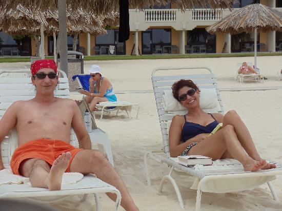 Bucuti & Tara Beach Resort Aruba: Friends we met at Bucuti