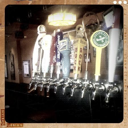 Houlihan's: I loooove their selection of beers!!