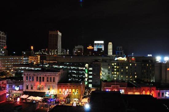 Beale Street: Looking out over Beale