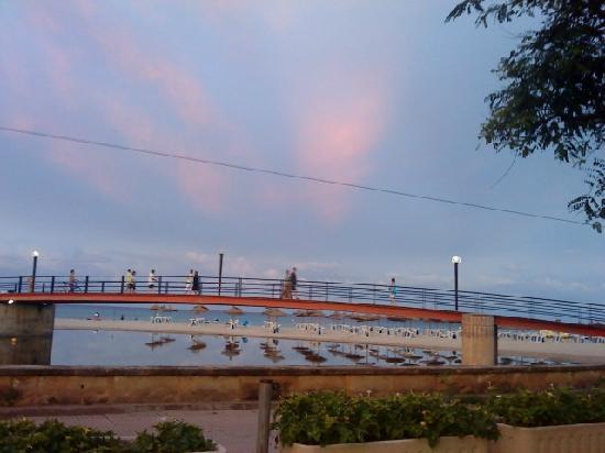 Playa Moreia Apartments: sunset