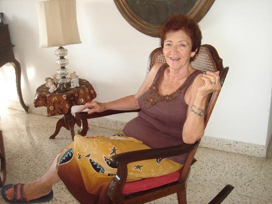 Casa Particular Guillermina y Roberto: Sra. Guillermina
