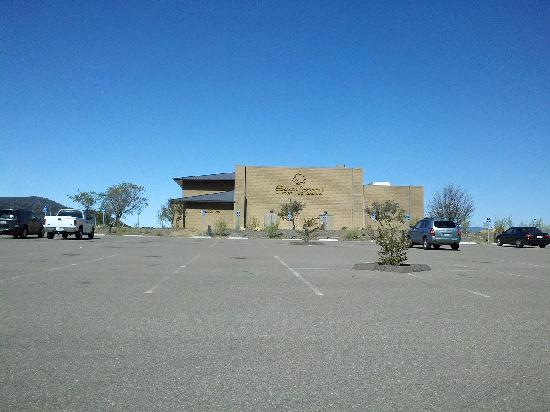 Santa Ysabel Casino: Side view of Casino from parking lot