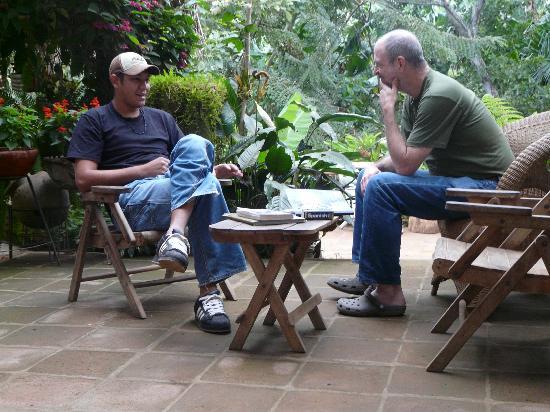 La Mariposa Spanish School and Eco Hotel: Conversation class