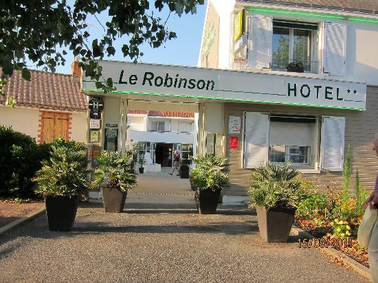 Saint-Jean-de-Monts, França: Entree de l'hotel