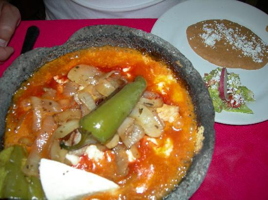 Los Zarapes: Dinner - MMMM!