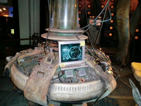 Doctor Who Experience Cardiff Bay: The best way to fly home
