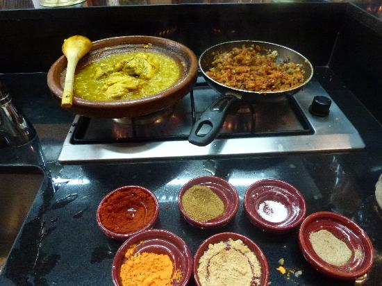 La Maison Arabe: Cooking class, with tagine