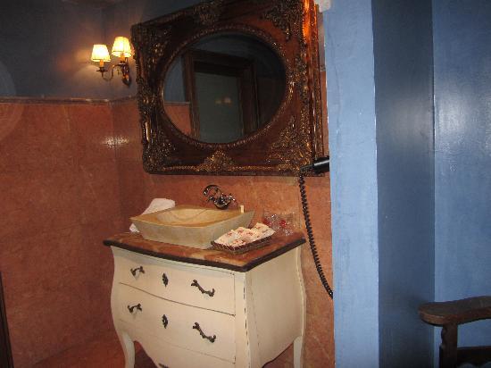 Hotel Hospederia de los Parajes: Baño