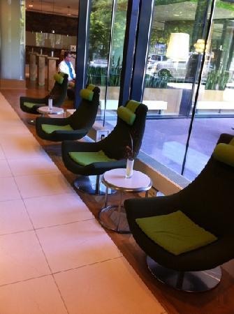 โรงแรมโนโวเทล อัมสเตอร์ดัมซิตี้โฮเต็ล: reception