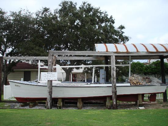"Destin History & Fishing Museum: The Seine Boat ""Primrose"""
