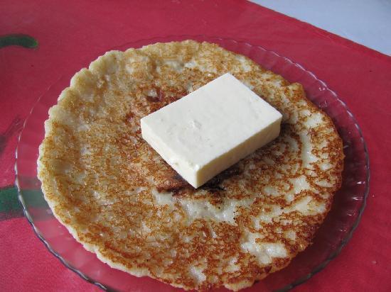 La Casita del Maiz: Chorreados con queso
