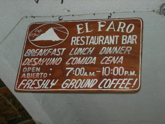 Cafe El Faro