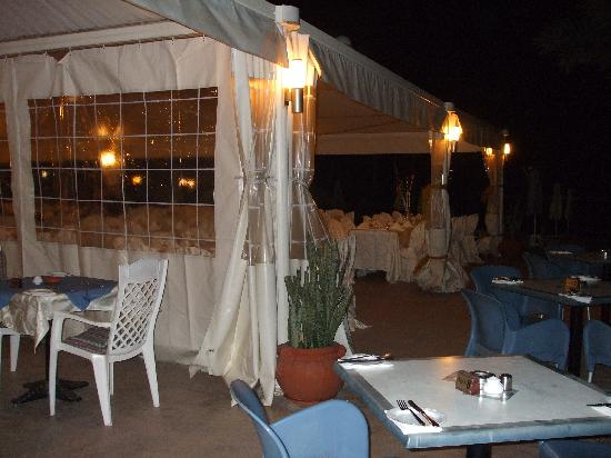 SunConnect Protaras Beach - Rising Star Hotel: Shoved in a corner for private party