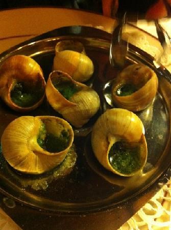 La Casita: escargot