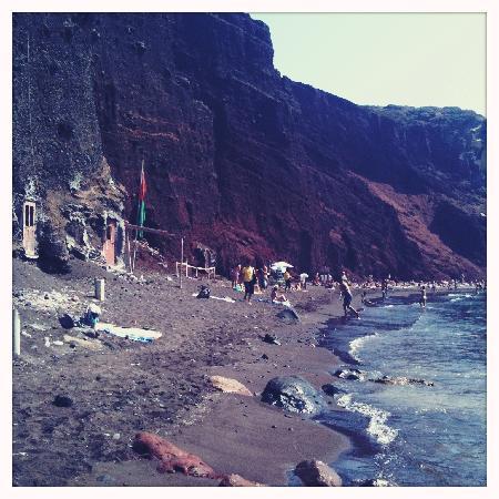 เรดบีช: View of the beach