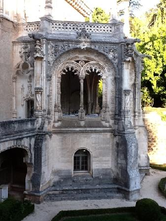 Bussaco Palace Hotel: dinning room terrace