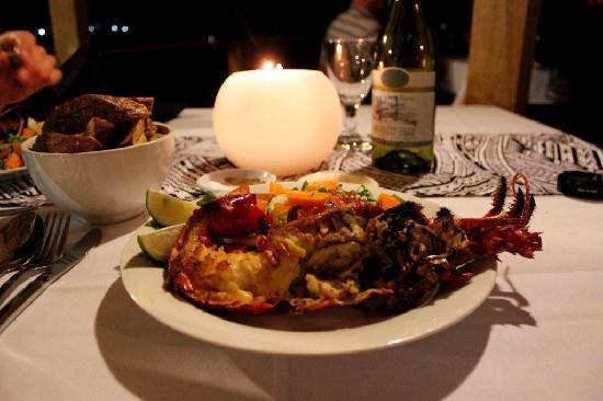ซาไว ลากูน รีสอร์ท: dinner, it was lobster $35 tala ,so good!