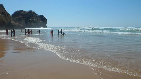 Pestana Delfim All Inclusive: Beach outside hotel