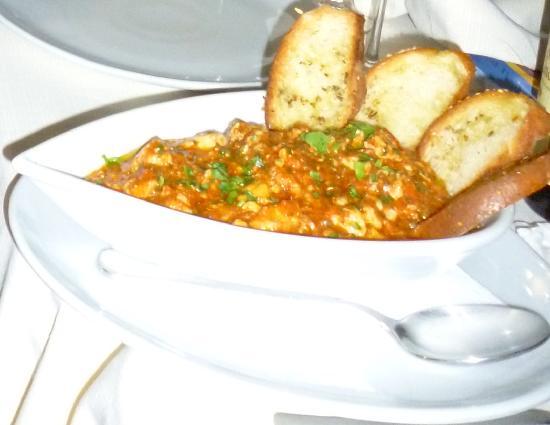 Ristorante Del Golfo: zuppa di pesce per 4 persone